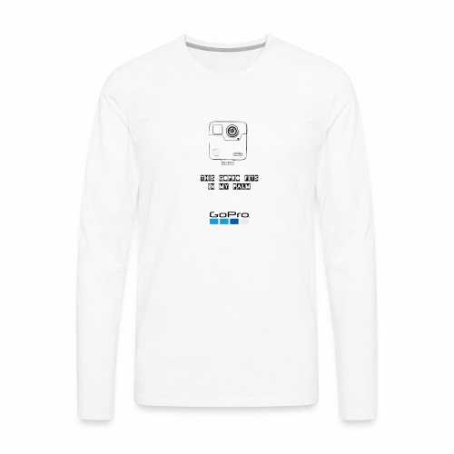 GoPro Fusion - Men's Premium Long Sleeve T-Shirt