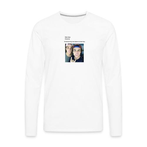 Dolan lip thing - Men's Premium Long Sleeve T-Shirt