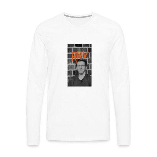 Rock Robster's vlog merchandise. - Men's Premium Long Sleeve T-Shirt