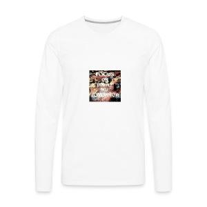 Focus on today not tomorrow - Men's Premium Long Sleeve T-Shirt