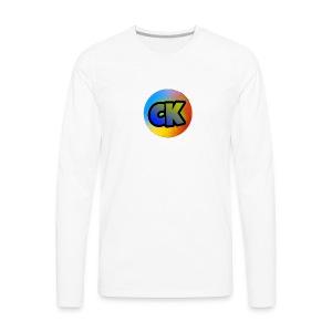 Official Cedar Klutz Logo - Men's Premium Long Sleeve T-Shirt