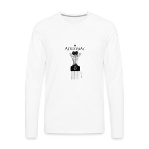 tshirtAfroArtD2 copy - Men's Premium Long Sleeve T-Shirt