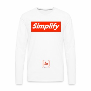 Simplify [fbt] - Men's Premium Long Sleeve T-Shirt