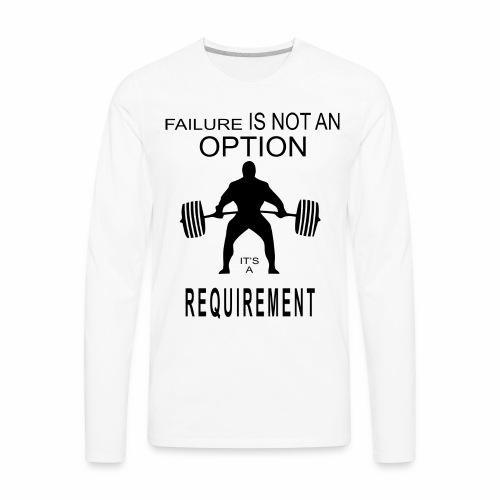 gym - Men's Premium Long Sleeve T-Shirt