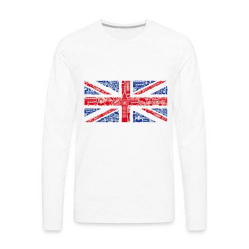 London - Men's Premium Long Sleeve T-Shirt