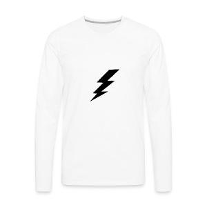 Black Thunder - Men's Premium Long Sleeve T-Shirt