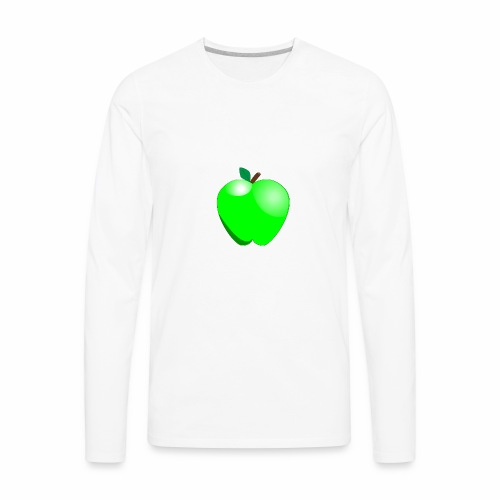 Green Apple - Men's Premium Long Sleeve T-Shirt