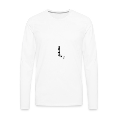 Tip hotline Phone Case - Men's Premium Long Sleeve T-Shirt
