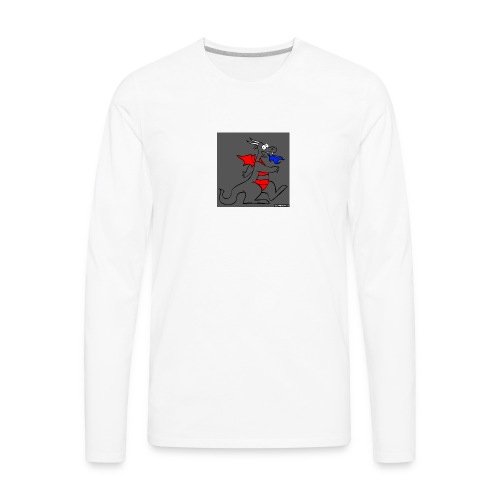 Dragon gray - Men's Premium Long Sleeve T-Shirt