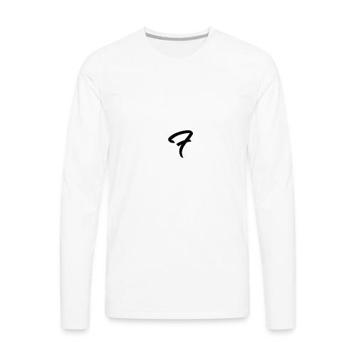 Fofuu (Black Transparent) - Men's Premium Long Sleeve T-Shirt