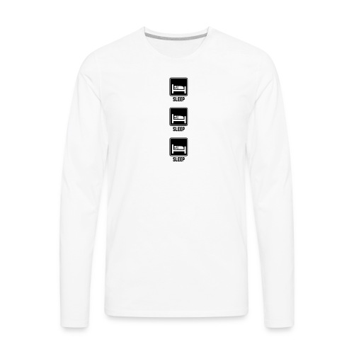 sleep sleep sleep - Men's Premium Long Sleeve T-Shirt