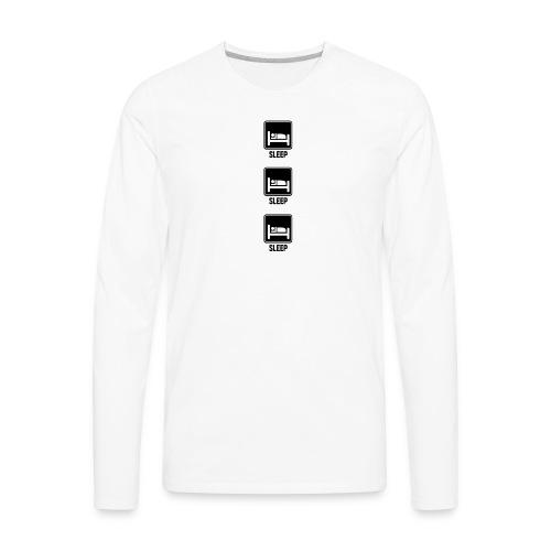 sleep sleep sleep - Men's Premium Long Sleeve T-Shirt