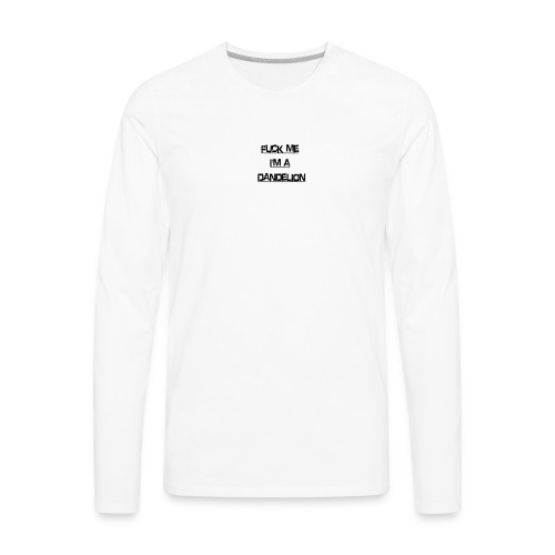 fuck me - Men's Premium Long Sleeve T-Shirt