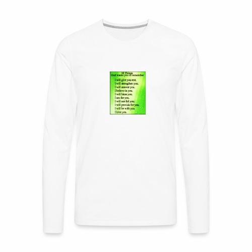 Godly - Men's Premium Long Sleeve T-Shirt