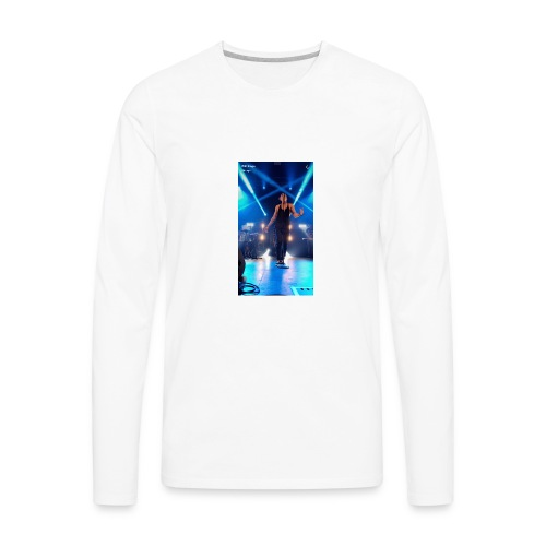 William singe on stage - Men's Premium Long Sleeve T-Shirt