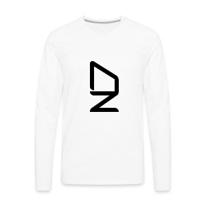DZ logo - Men's Premium Long Sleeve T-Shirt