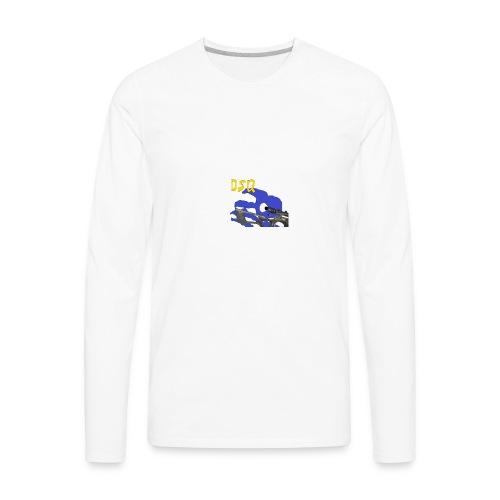DSQ Logo - Men's Premium Long Sleeve T-Shirt