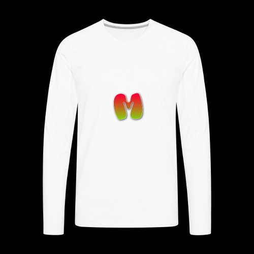 Monster logo shirt - Men's Premium Long Sleeve T-Shirt