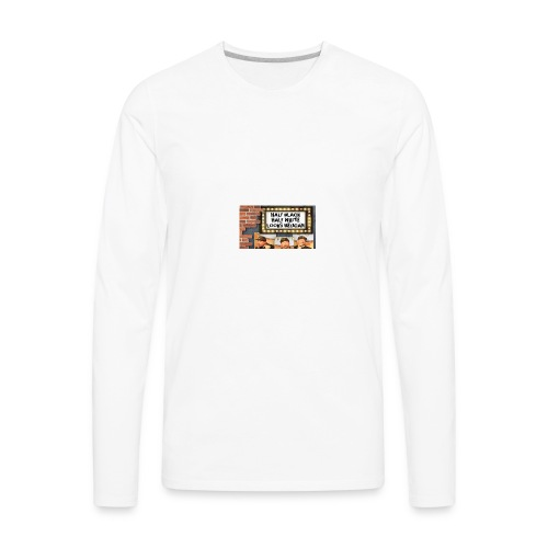 Key Lewis; Marquee - Men's Premium Long Sleeve T-Shirt
