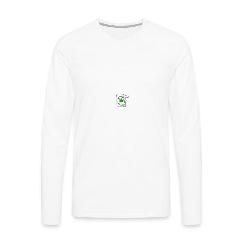 LEAF FACE - Men's Premium Long Sleeve T-Shirt