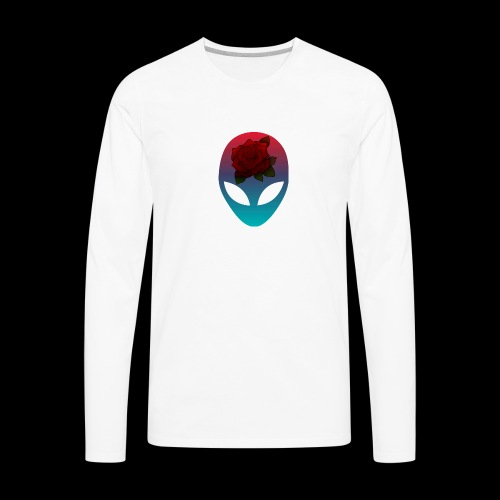 Alien Rose - Men's Premium Long Sleeve T-Shirt
