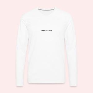 Computer hoe - Men's Premium Long Sleeve T-Shirt