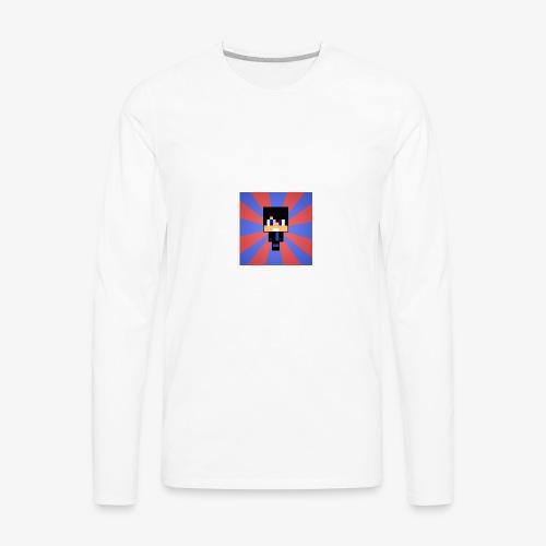 My Skin In Mine Craft - Men's Premium Long Sleeve T-Shirt