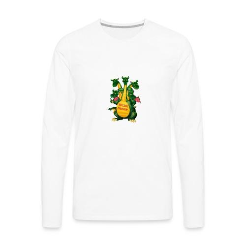 Tirzki Group - songs and video design studio - Men's Premium Long Sleeve T-Shirt