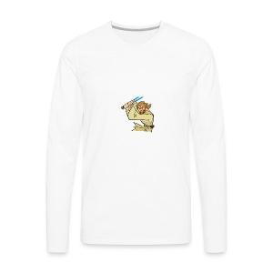 obiwan kenobi clipart - Men's Premium Long Sleeve T-Shirt