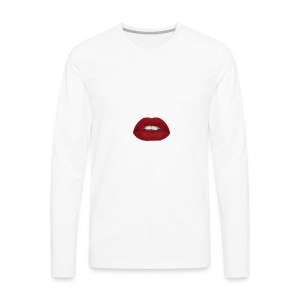 Lips - Men's Premium Long Sleeve T-Shirt
