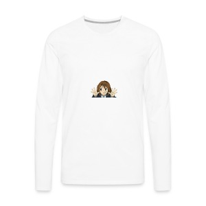 WHOS THERE - Men's Premium Long Sleeve T-Shirt