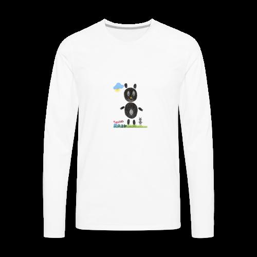 Tono bear - Men's Premium Long Sleeve T-Shirt