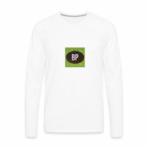 Bunnypoo Logo 1 - Men's Premium Long Sleeve T-Shirt
