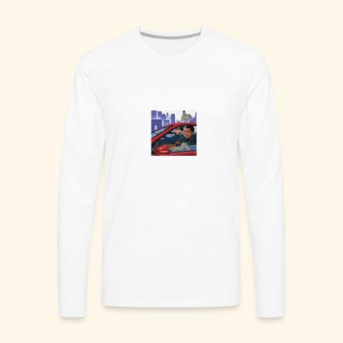 A Boogie Wit Da Hoodie Caroon - Men's Premium Long Sleeve T-Shirt