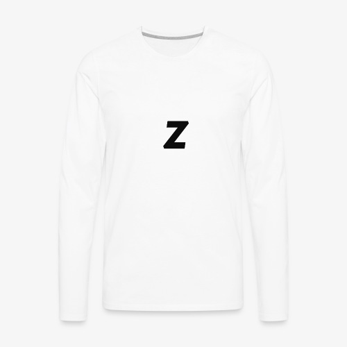 Z LOGO - Men's Premium Long Sleeve T-Shirt