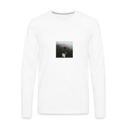 rose - Men's Premium Long Sleeve T-Shirt