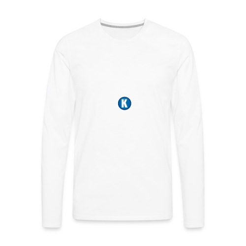 Capa_de_perfil_do_canal - Men's Premium Long Sleeve T-Shirt