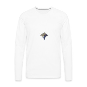 Mr.Swiss logo - Men's Premium Long Sleeve T-Shirt