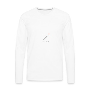 J S I L V E R - Men's Premium Long Sleeve T-Shirt