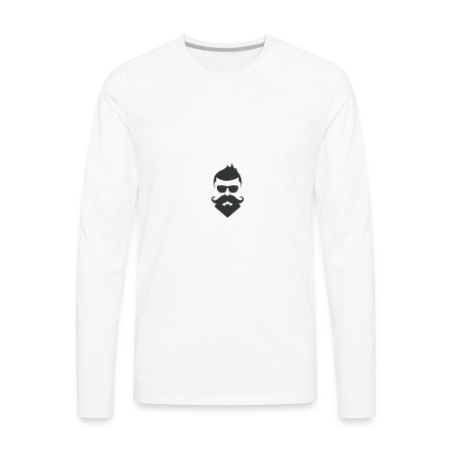 Barber Man - Men's Premium Long Sleeve T-Shirt