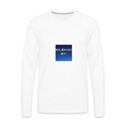 MrSavageBoy - Men's Premium Long Sleeve T-Shirt