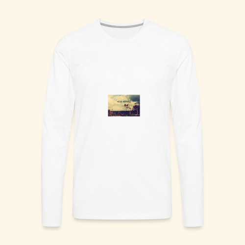 stay strong calforina - Men's Premium Long Sleeve T-Shirt