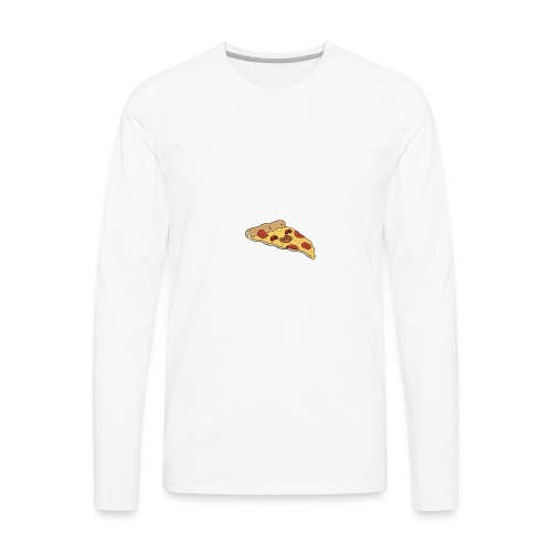 LOVE DA PIZZA - Men's Premium Long Sleeve T-Shirt