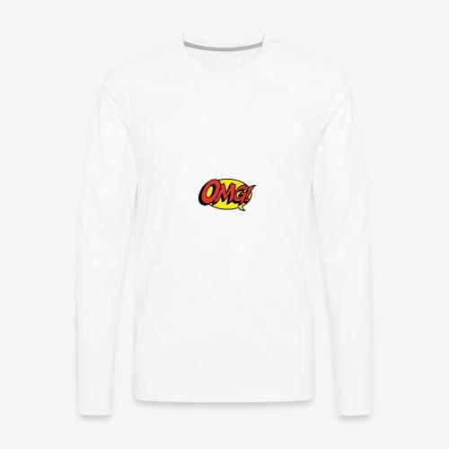 omg - Men's Premium Long Sleeve T-Shirt