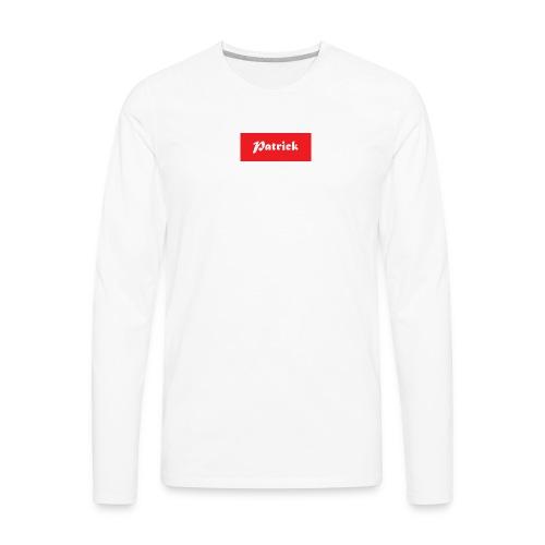 Patrick supreme - Men's Premium Long Sleeve T-Shirt