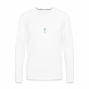 Healed by the Cross Psalm 103:1-3 - Men's Premium Long Sleeve T-Shirt