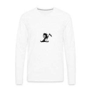 the grim - Men's Premium Long Sleeve T-Shirt