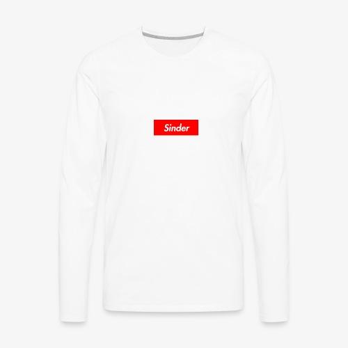 Sinder - Men's Premium Long Sleeve T-Shirt