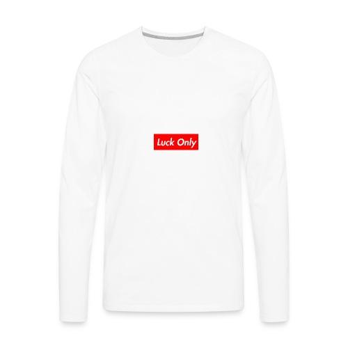 Luck Only Set 2 - Men's Premium Long Sleeve T-Shirt