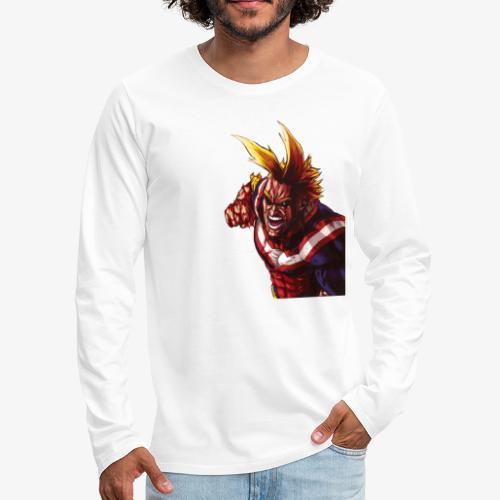 All Might - Boku no Hero Academia - Men's Premium Long Sleeve T-Shirt